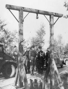 Vught, Netherland​s, Prince Bernhard during a visit to concentration camp Herzogenbusch after its liberation​. KZ Herzogenbusch was the only SS concentration camp in Western Europe.