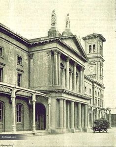 Former Royal University of Ireland, on Earlsfort Terrace in Dublin. Demolished and now the site of the National Concert Hall. Dublin Street, Dublin City, Dublin Ireland, Ireland Travel, Old Pictures, Old Photos, Ivy Rose, Images Of Ireland, Irish People