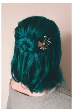 Ponytail Hairstyles, Diy Hairstyles, Hairstyle Ideas, Halloween Hairstyles, Formal Hairstyles, Wedding Hairstyles, Mermaid Hairstyles, Fringe Hairstyle, Anime Hairstyles