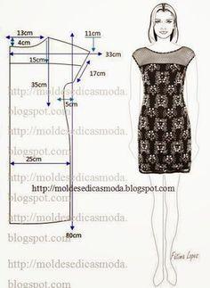 Moldes Moda por Medida on Bloglovin