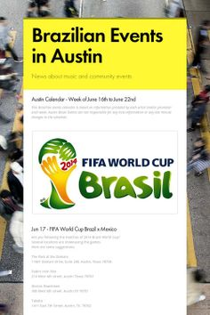 Brazilian Events in Austin week of June 16th to June 22nd