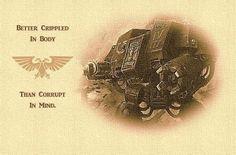 Warhammer 40K - Dreadnaught Quote