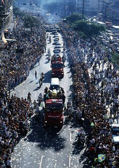 Funeral of Ayrton Senna