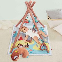 CAMPING CUBS BABY ACTIVITY GYM
