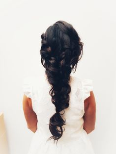 Bohemian romantic multibraided hairstyle.