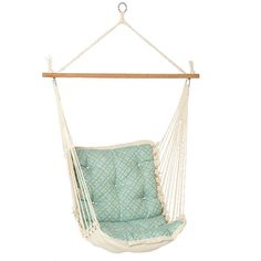 hammock swing chair. This would be my backyard happy place.