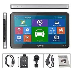 awesome XGODY 7 CAR TRUCK GPS Navigation Navigator SAT NAV+ US Canada Mexico New Map - For Sale Check more at http://shipperscentral.com/wp/product/xgody-7-car-truck-gps-navigation-navigator-sat-nav-us-canada-mexico-new-map-for-sale/