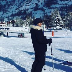 Louis skiing in the Alps