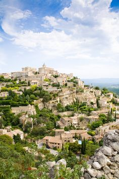 Gordes Provance, France.  Was not able to visit but remember stoping the car for a Kodak moment. Beautiful site.