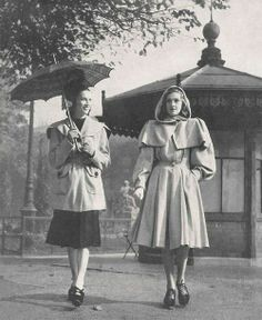 Two wonderful, timelessly classic 1940s coats