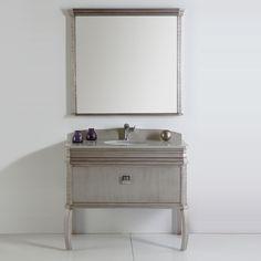 "Fresca 40"" Single Bathroom Vanity Set"