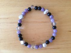 Intention Bracelet by WildLotusYoga on Etsy, $10.00 Kama Fitness, Beaded Bracelets, Etsy, Jewelry, Jewellery Making, Jewerly, Jewelery, Pearl Bracelets, Jewels