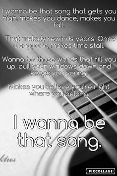 Brett Eldridge ~ I Wanna be that Song (Made by me @AndreaMenard242)