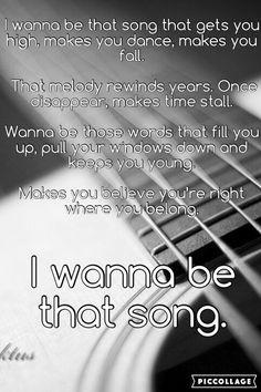 Brett Eldridge ~ I Wanna be that Song (Made by me @AndreaMenard242)