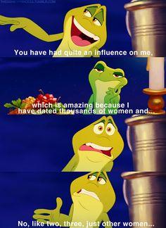 Princess & the Frog. Lol!