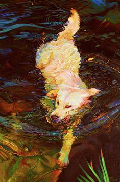Waterdance Painting  - Waterdance Fine Art Print