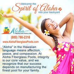Welcome the Spirit of Aloha into your backyard. Call (800) 786-2318 to find a builder in your area.