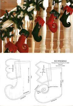 Botas Navidad.