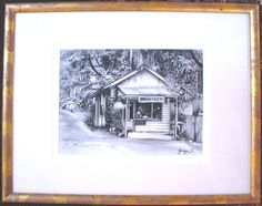 This is a wonderful original charcoal on paper by our resident artist Georges Maximilien Petit. This one is titled 'Eumundi', (Queensland, Australia) a place well renowned for the famous Eumundi Markets. Sunshine Coast, Charcoal, Australia, The Originals, Paper, Artist, Artists