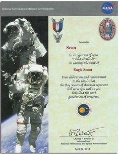 Eagle Scout Congrats Letters