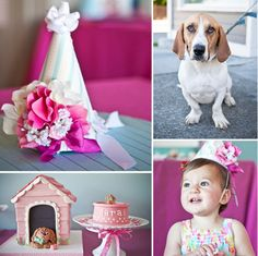 A Puppy-Themed Party: Bow wow indeed! You don't have to have a pet dog at home to love them — but it certainly helps for the pictures! This puppy-themed birthday party proves that puppy power is here to stay!   Source: Allyson Wiley for A Little Savvy Event