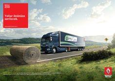 Renault Trucks - Yollar önünüze serilecek. by Uğur Say, via Behance