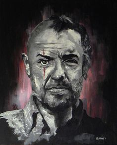 """""""Locke in Black"""" by drMikey. God I miss this show."""