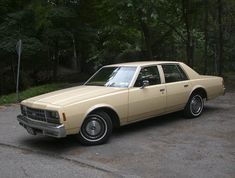 1978 Chevy Impala like my parents owned for many years. I took (and passed) my driver's test in that car!