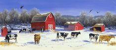 Linda Picken Art Studio / Patriotic Cows.jpg