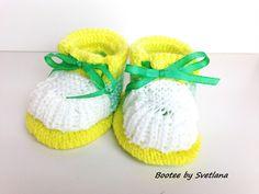 Chaussons bottines bébé : Mode Bébé par creations-fait-main-divers