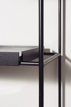 Everything Creative — The Tray Shelf by Studio Hanne Willmann and Woud. Shelving Design, Shelf Design, Cafe Interior, Interior Design, Interior Detailing, Rack Metal, Joinery Details, Metal Shelves, Home Room Design