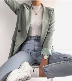 Fashion outfits and style ideas for the warm year look Fashion . - Fashion outfits and style ideas for the warm year-round look fashion - Mode Outfits, Trendy Outfits, Fall Outfits, Fashion Outfits, Fashion Ideas, Fashion Clothes, Fashion Tips, Fashion Trends, Hipster Outfits