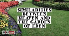 Similarities Between Heaven And The Garden Of Eden - Faith in the News Acts 1, Open When, Inspirational Articles, Christian Devotions, Kingdom Of Heaven, Garden Of Eden, Daily Devotional, Bible, Faith