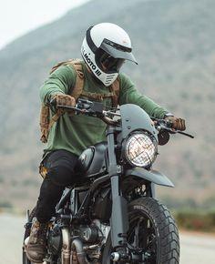 Ducati Scrambler By Gorm - Konzeptfahrzeuge Ducati Scrambler Custom, Scrambler Motorcycle, Moto Bike, Motorcycle Style, Motorcycle Gear, Motocross Helmets, Retro Motorcycle, Vintage Motocross, Cafe Racer Bikes