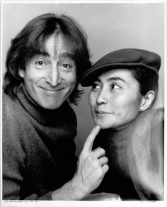 John Lennon & Yoko Ono 1980. this might just be the cutest photo of them that I have ever seen.