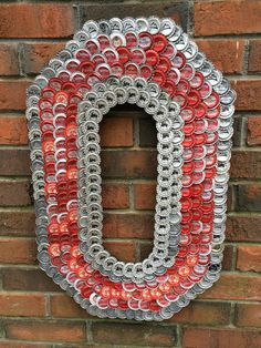 "Ohio State ""O"" by donnadigiorgioart on Etsy… Ohio State University, Ohio State Buckeyes, Ohio State Rooms, Ohio State Decor, Ohio State Crafts, Buckeyes Football, Ohio State Football, American Football, College Football"