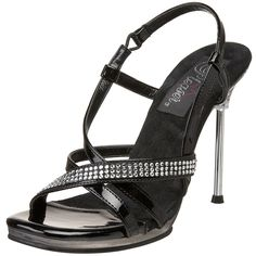 Pleaser Women's Chic 36 Sandal >>> Details can be found by clicking on the image.