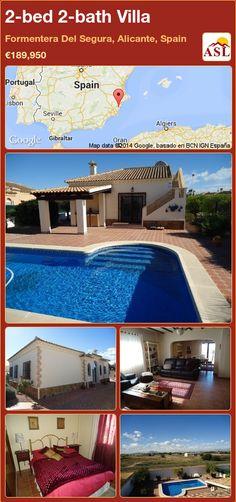 2-bed 2-bath Villa in Formentera Del Segura, Alicante, Spain ►€189,950 #PropertyForSaleInSpain
