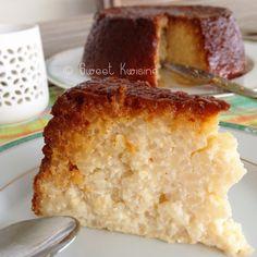 Martinique, cuisine antillaise, sweet kwisine, gateau, riz, riz au lait, caramel, rice pudding, cake, rhum, vanille, cannelle, plaisir d'enf...