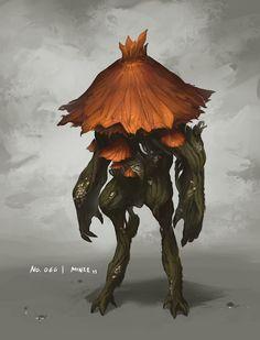 Monster No. 066 by Onehundred-Monsters.deviantart.com on @deviantART