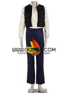 Star Wars Han Solo Original Cosplay Costume