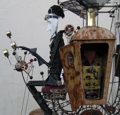 Keith Newstead, sus automatas y A steampunk Romance