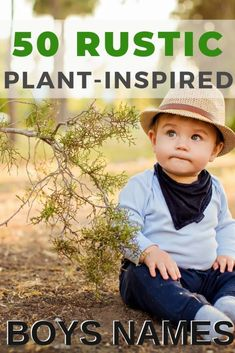 Rustic Plant-Inspired Names for Boys - Baby Boy Names Baby Girl Names Rustic Boy Names, Unique Boy Names, Unique Baby, Nature Names For Boys, Country Boy Names, Nature Inspired Names, Unisex Baby Names, Names Baby, Country