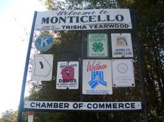 Home of Trisha Yearwood - Monticello, Georgia