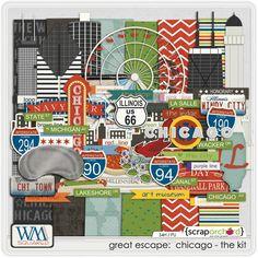 Great Escape - Chicago WM{squared} at Scrap Orchard