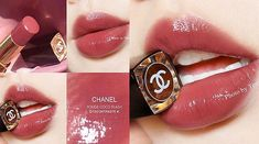 Chanel Makeup, Kiss Makeup, Cute Makeup, Pretty Makeup, Beauty Makeup, Korean Eye Makeup, Asian Makeup, Lip Colour, Makeup Swatches
