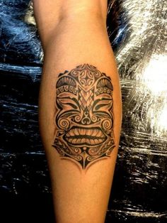 tiki tattoo, symbol, pictures