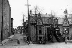 L'intersection des rues Saint-Jean etTurnbull en1929