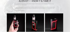 To celebrate the fact that one of our favorite personal vape units—the Smok Alien Kit—is on sale, we've rounded up the only three aliens we care about right now Smok Alien, Aliens, Kit, Blog, Blogging