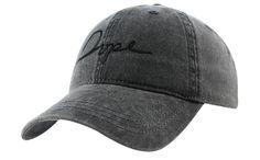 Tonal script cap black